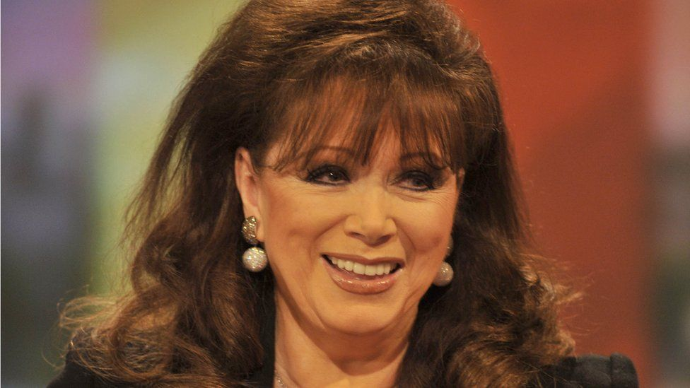 Jackie Collins in 2011