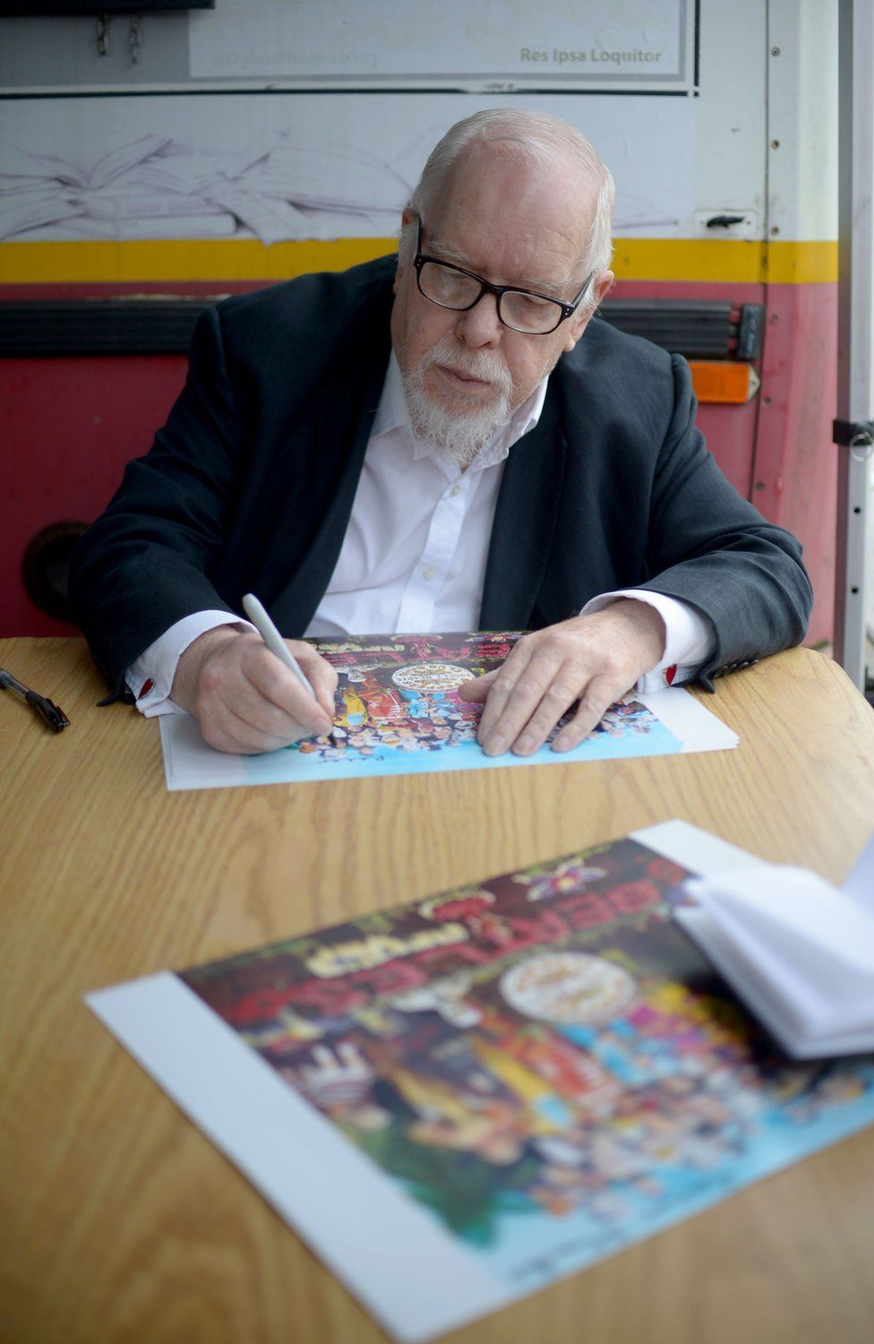 Sir Peter Blake allows remixes of his art on new Dazzle app