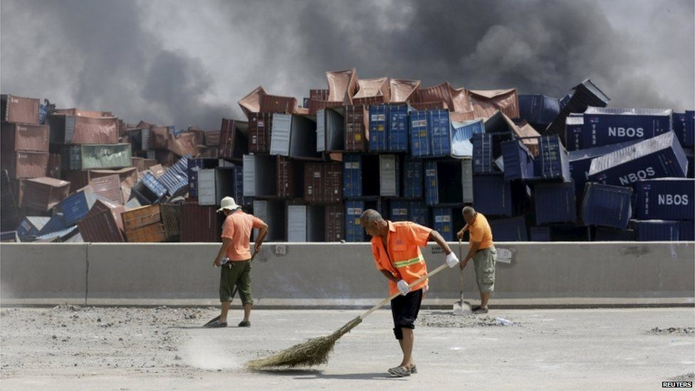 China explosions: What we know about what happened in Tianjin