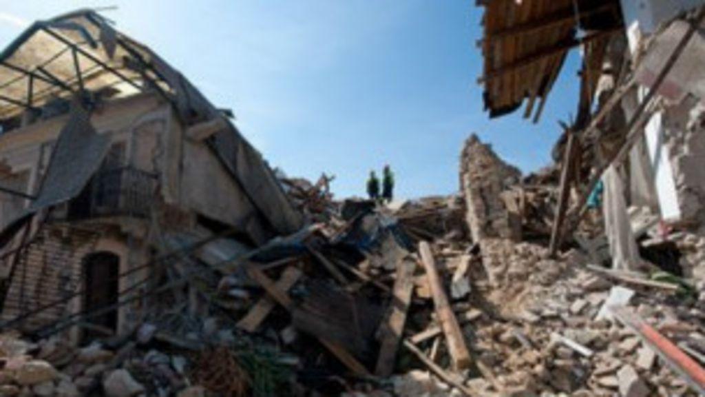 Decisão judicial cria 'paranoia' de terremotos na Itália - BBC Brasil
