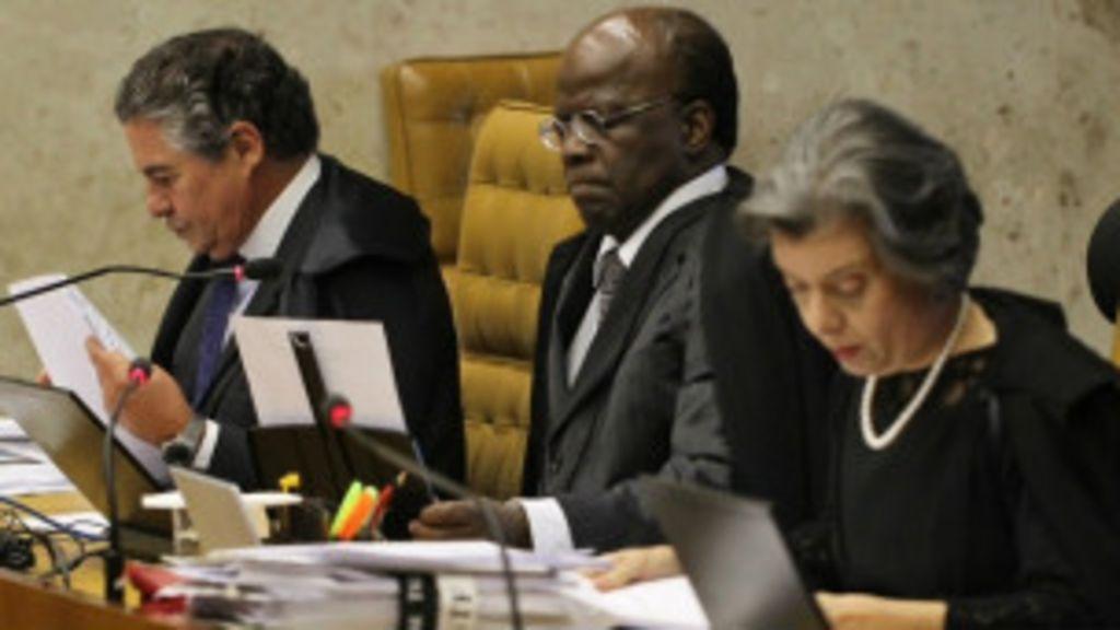 Revisão de Mensalão leva a fim de 'lua de mel com STF', diz jornal ...
