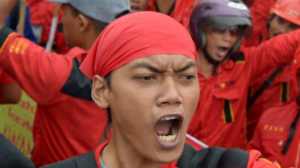 Demonstrasi Menentang Kenaikan Bbm Bbc Indonesia