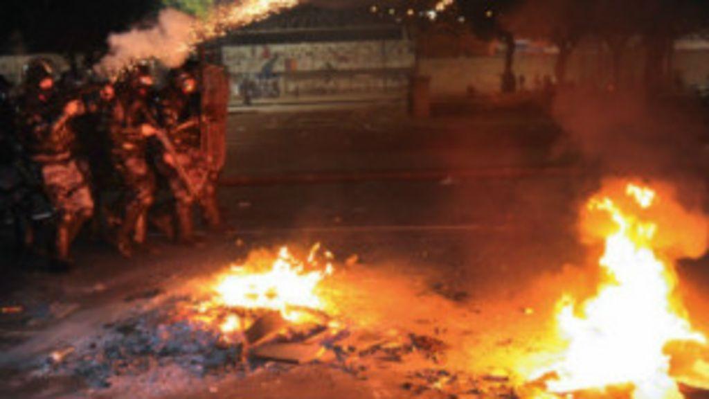 Por que há confrontos em manifestações que começam pacíficas ...