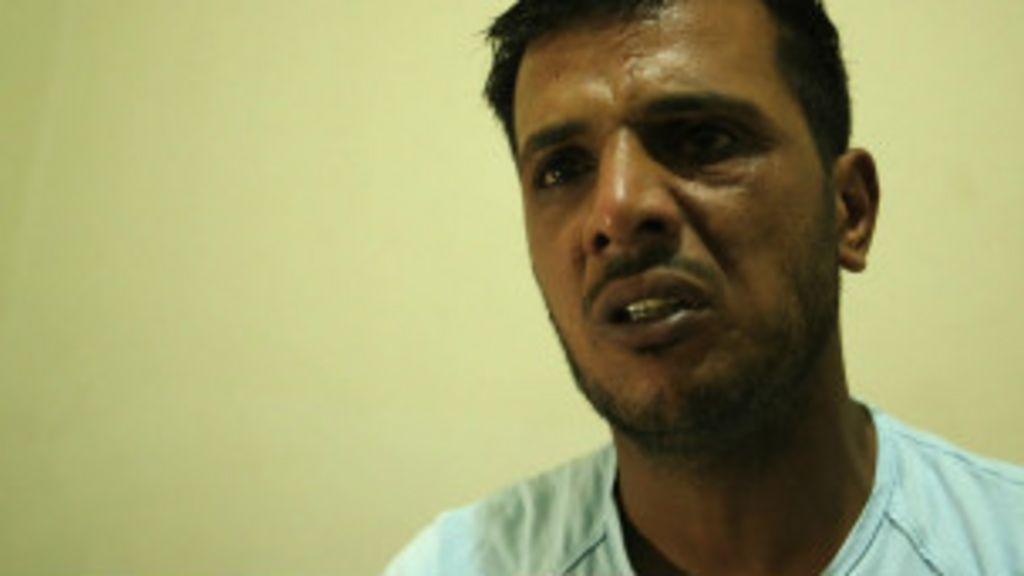 Frente a frente com o ' rebelde canibal' da Síria - BBC Brasil