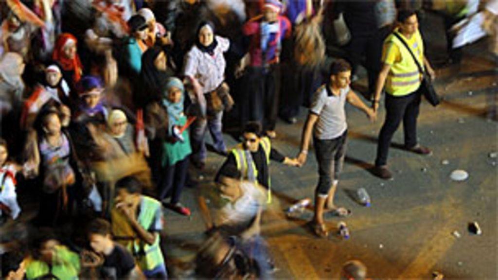 Egípcias enfrentam onda de ataques sexuais durante manifestações