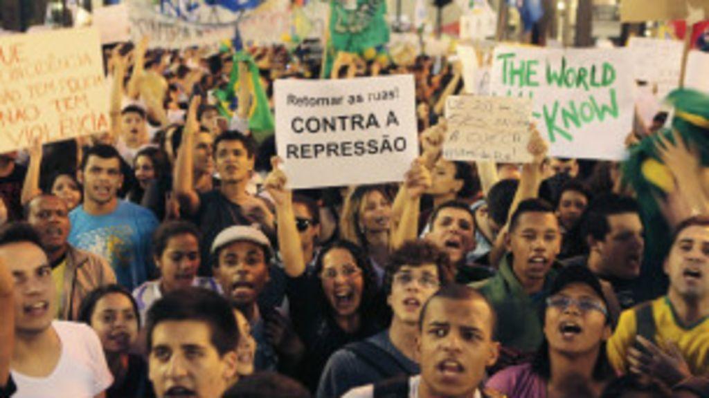 Brasileiros 'descobrem' mobilização em redes sociais durante ...
