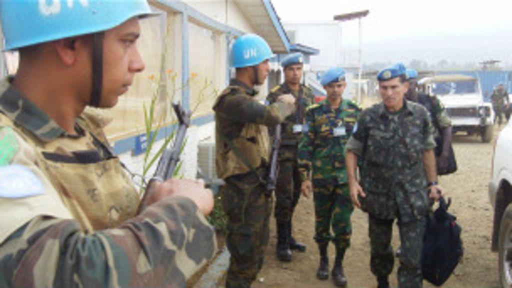 Após passagem pelo Haiti, Congo impõe desafio a general ...
