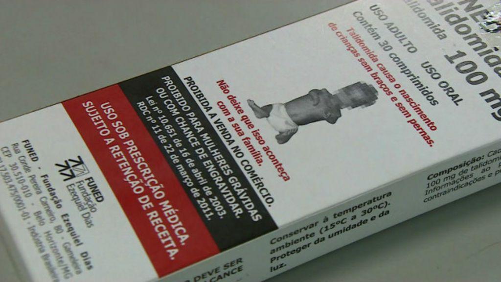 Talidomida continua a causar defeitos físicos em bebês no Brasil ...