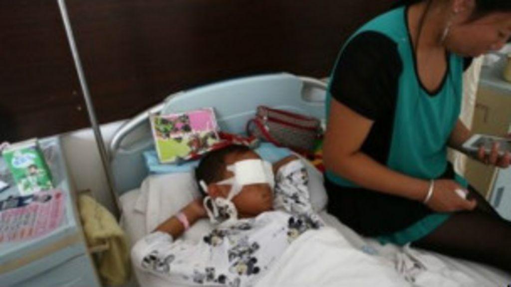 Menino chinês de seis anos teve olhos arrancados em ataque ...