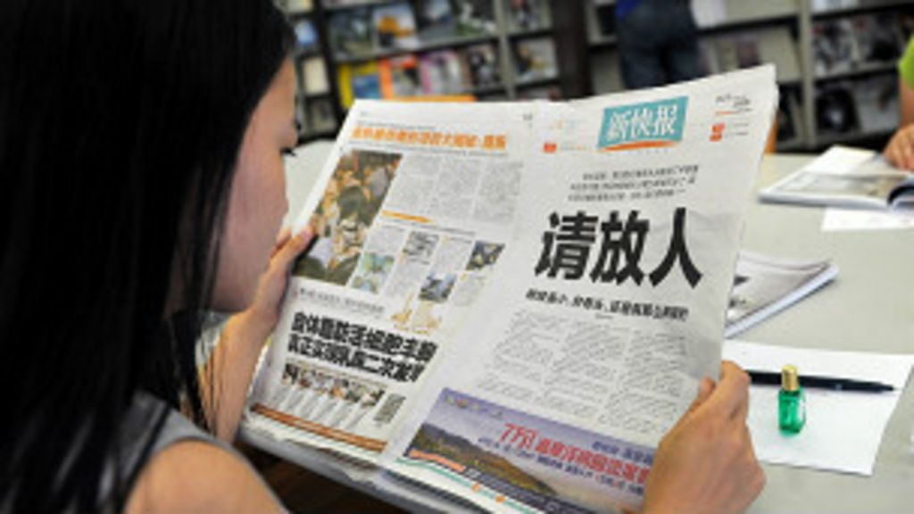 Surat kabar Cina minta maaf atas pemberitaan Chen - BBC ...