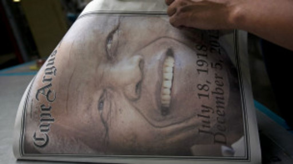 ' Herói', 'símbolo' e 'modelo': Mandela é unanimidade em imprensa ...