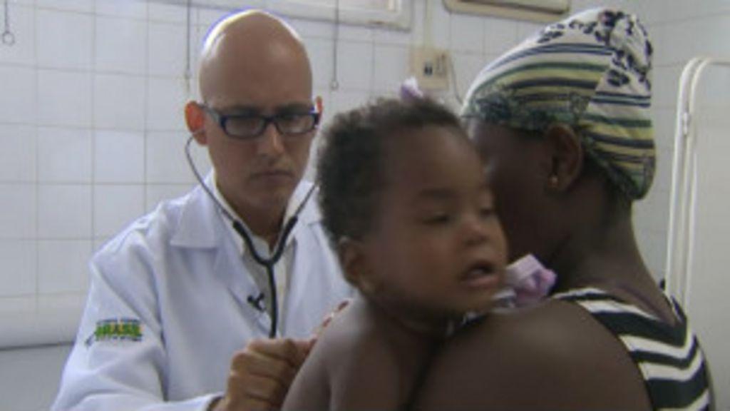 Médico cubano supera desconfiança no interior da Bahia - BBC Brasil