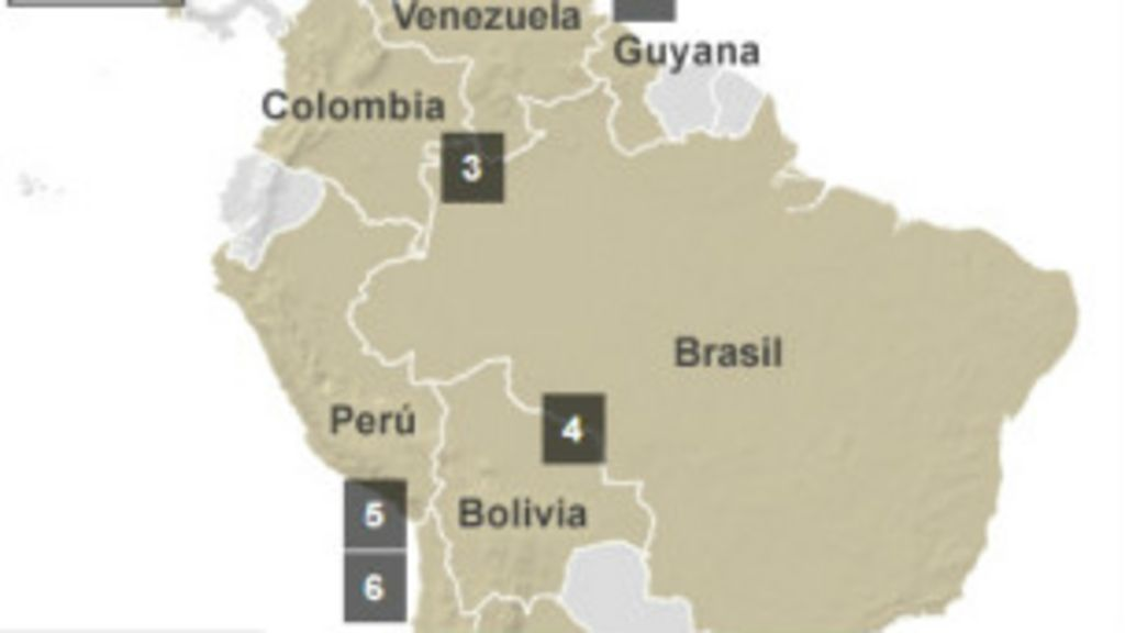 Confira os territórios em disputa na América Latina - BBC Brasil