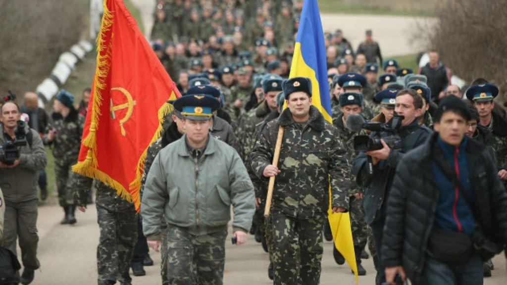 Resistência ucraniana na Crimeia causa problemas à Rússia - BBC ...