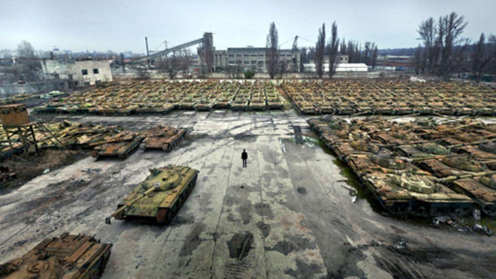 Cemitério de tanques na Ucrânia reúne relíquias da era soviética ...