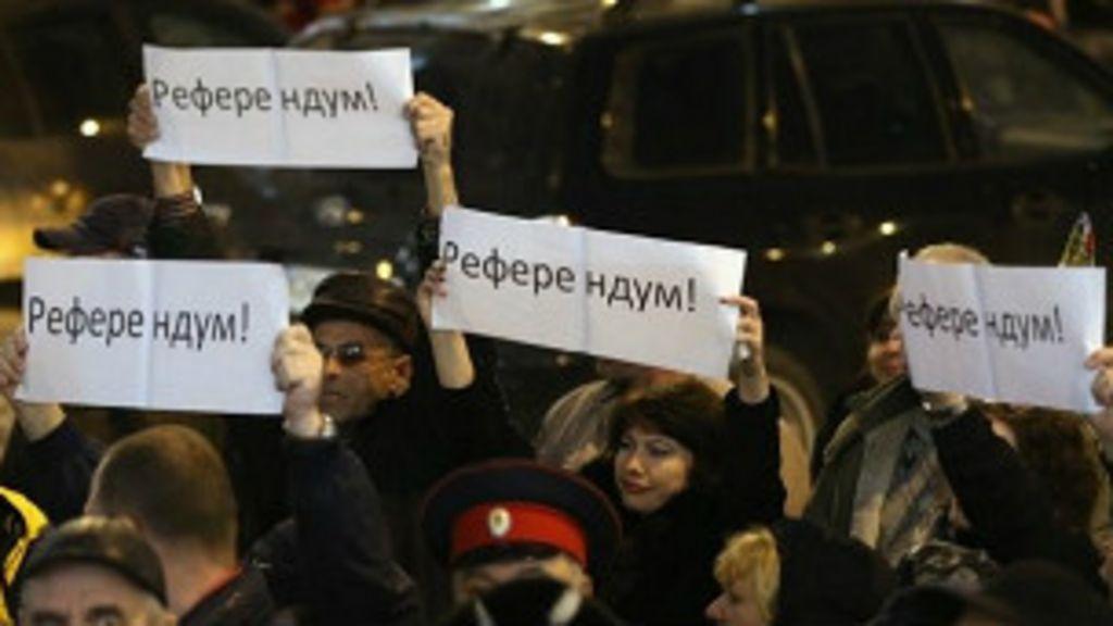 Referendo da Crimeia testa paciência do Ocidente - BBC Brasil