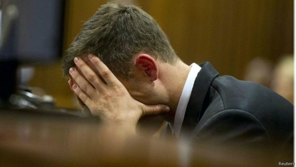 Pistorius pede desculpas por morte da namorada e diz 'ter medo de ...