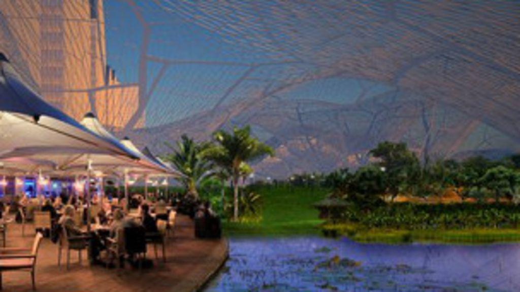 Arquitetos sugerem 'bolhas de ar limpo' para isolar Pequim da ...