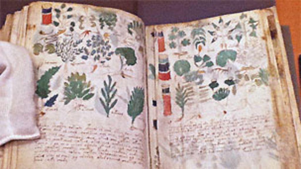 Conheça o misterioso livro escrito em idioma indecifrável - BBC Brasil