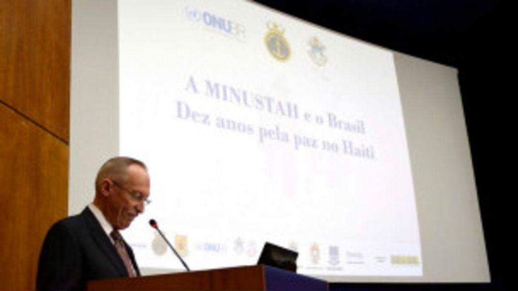 Diretor da ONU quer Brasil em mais missões internacionais de paz ...
