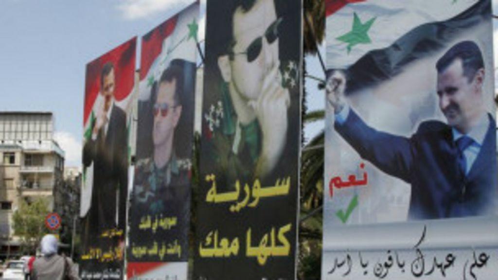 Sírios vão à urnas em meio à guerra - BBC Brasil