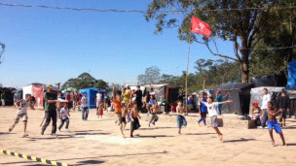 No acampamento Copa do Povo, não teve Copa - BBC Brasil