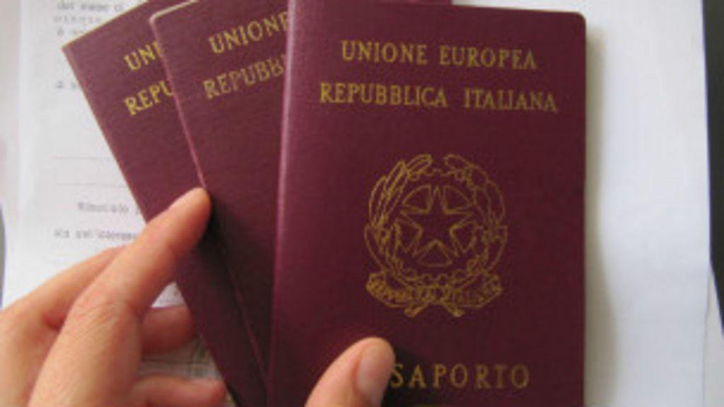 Parlamento da Itália cria taxa de R$ 920 para se obter cidadania no ...
