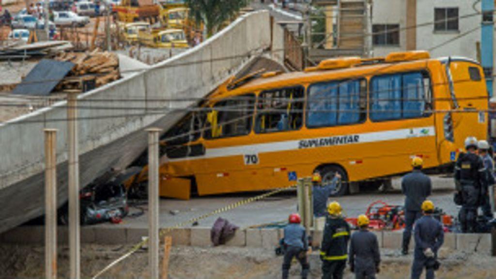 Queda de viaduto pode trazer complicações a Belo Horizonte na ...
