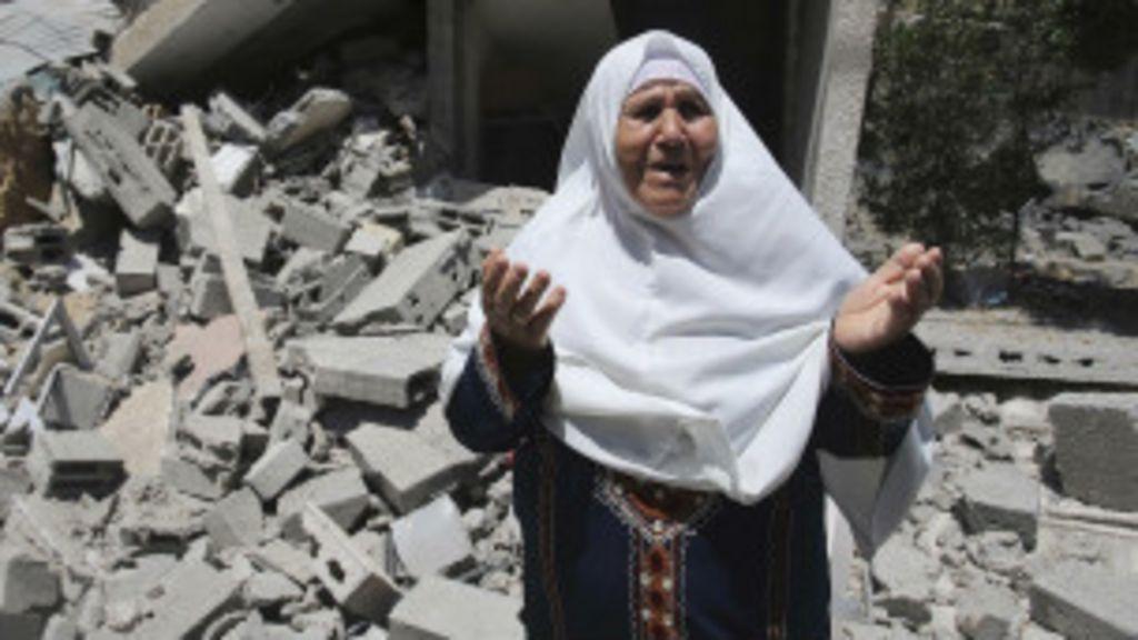 'Não vale a pena viver', diz morador da Faixa de Gaza - BBC Brasil