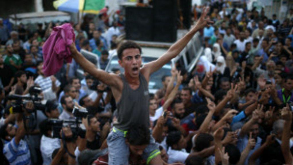 Israel e Hamas aceitam cessar- fogo de longa duração em Gaza ...