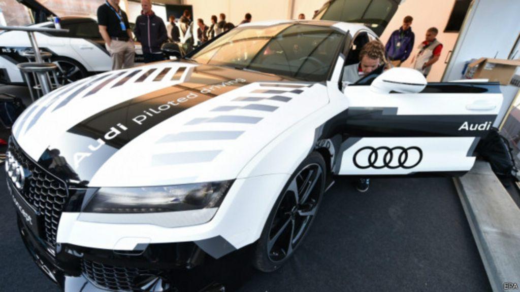 Carro sem motorista atinge 240 km/h em pista alemã - BBC Brasil