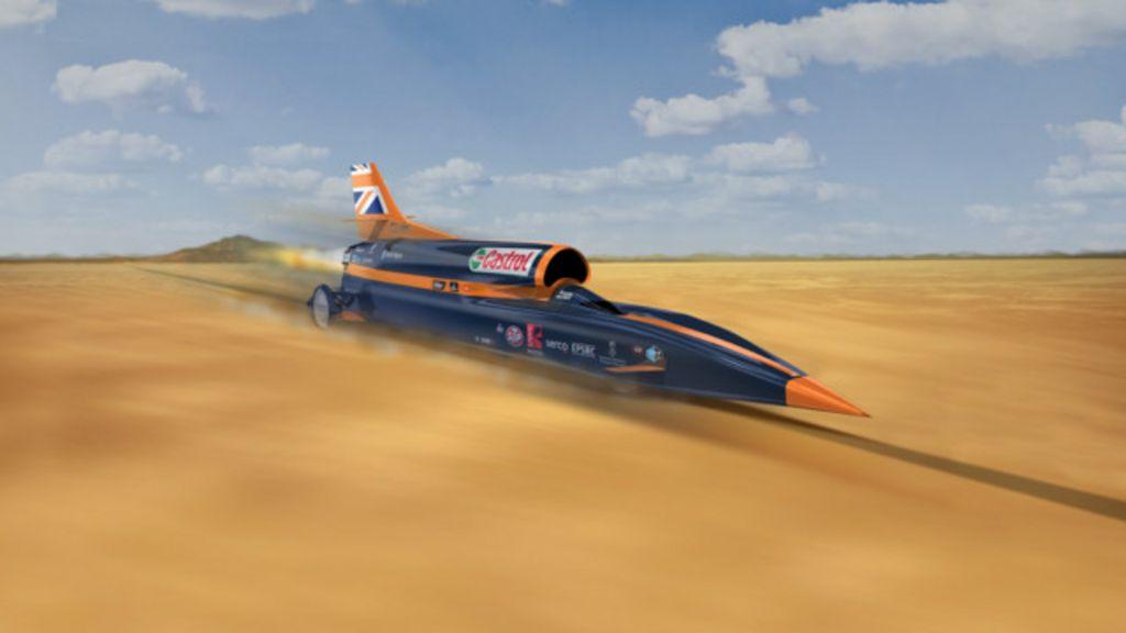 Britânicos desenvolvem carro supersônico que pode chegar a 1.600 ...