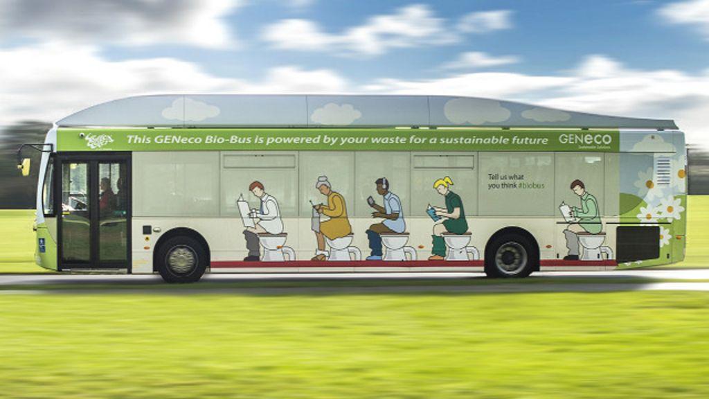 Grã-Bretanha testa 1º ônibus movido a fezes e lixo - BBC Brasil