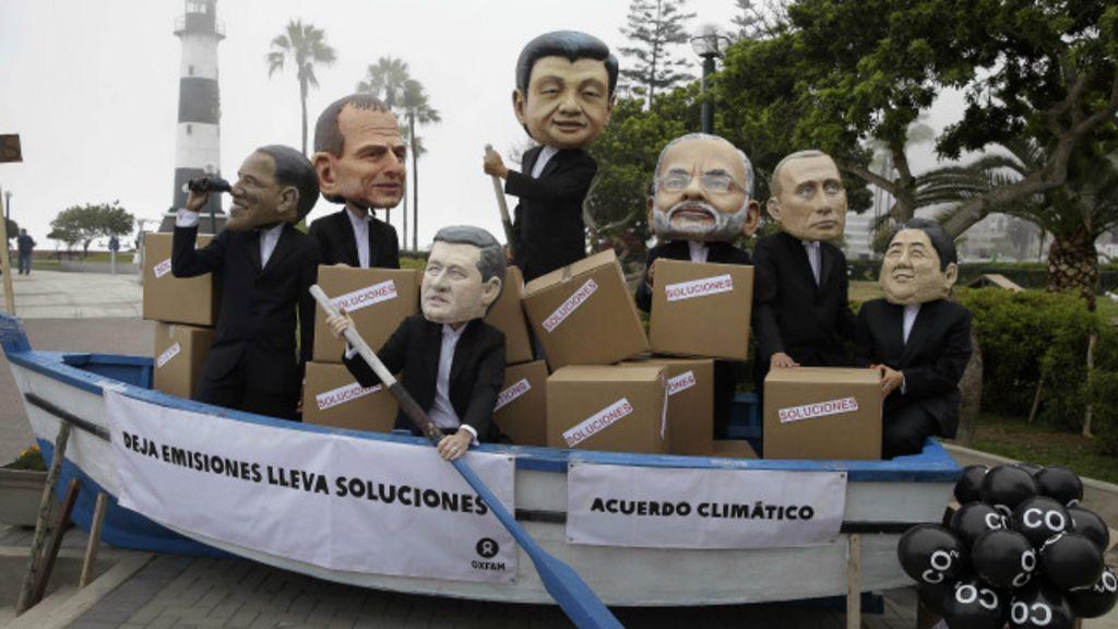 Entraves 'esticam' reunião da ONU sobre o clima no Peru - BBC Brasil