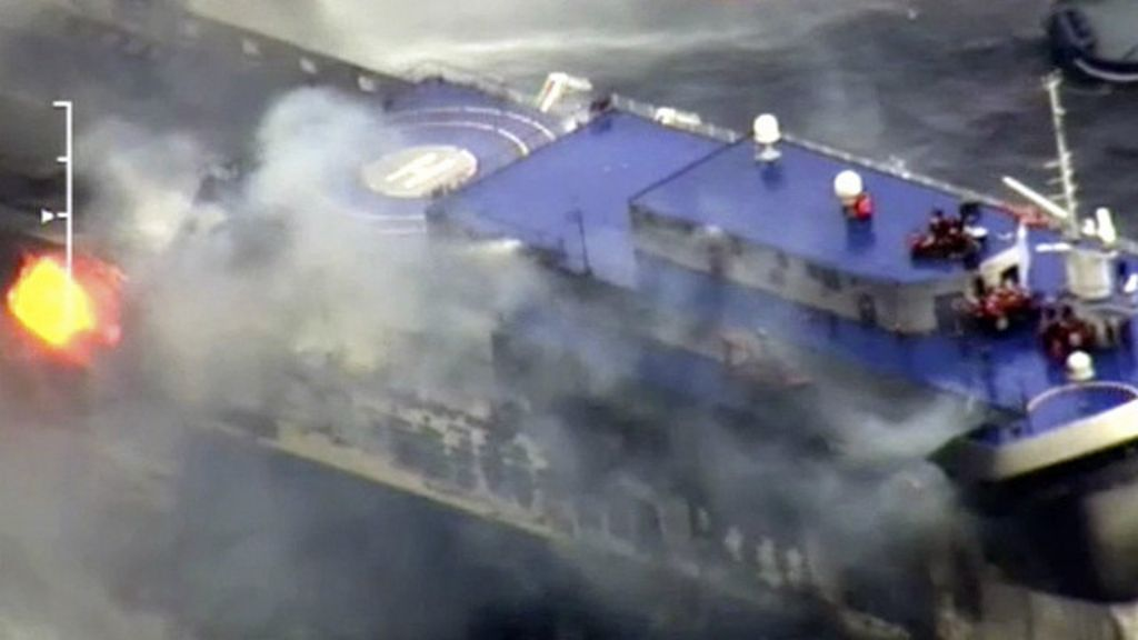 Siete muertos en dramático accidente de ferry en el mar Adriático ...