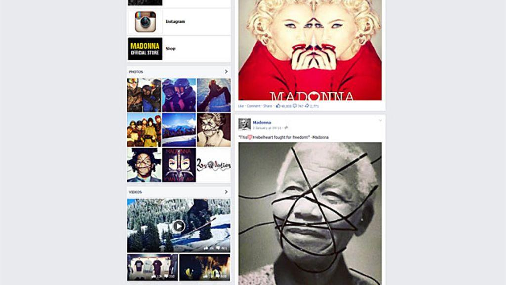 Madonna responde a críticas a fotos ' sadomasoquistas' de ...
