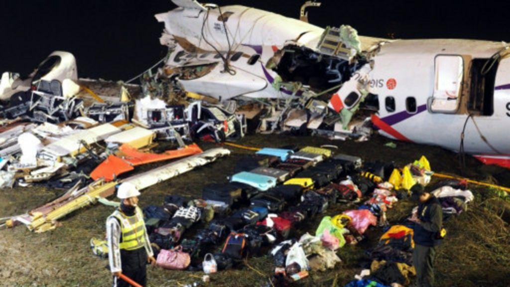 台湾空难死亡数字增至31人机头撞击严重- BBC 中文网