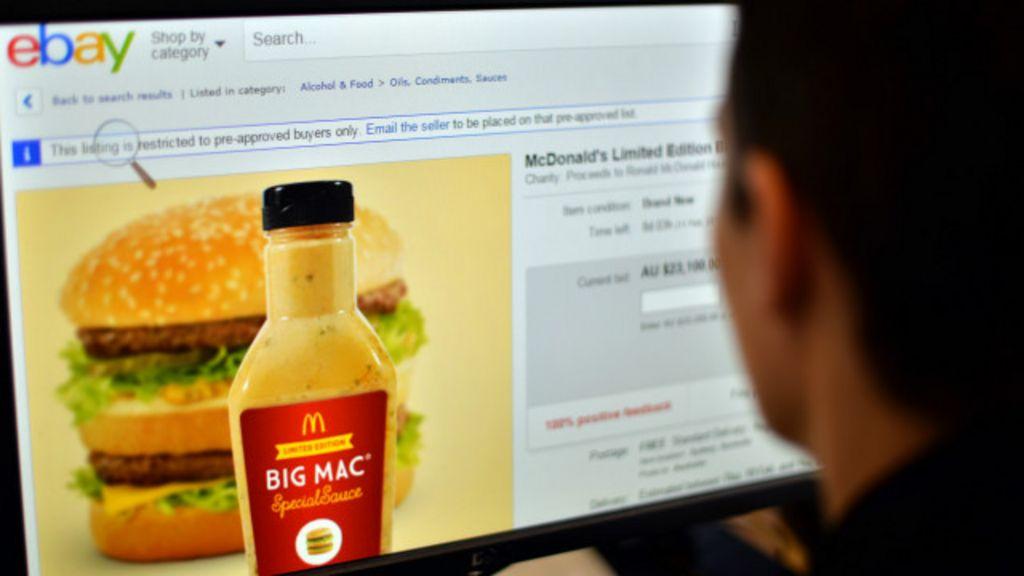 Lance virtual por 'molho especial' do Big Mac atinge R$ 50 mil ...