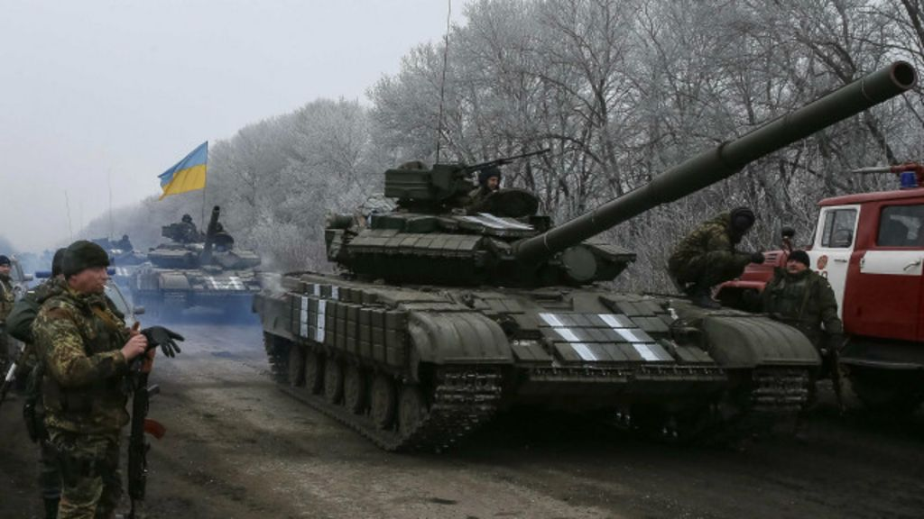 Intensidade de combates diminui na Ucrânia após cessar- fogo ...