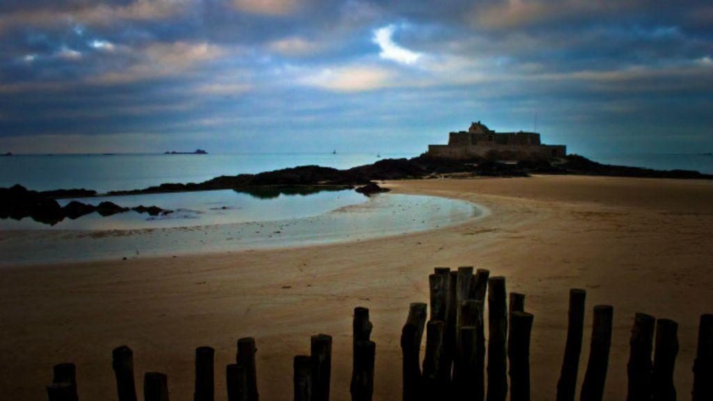 Imagens retratam beleza do litoral norte da França durante inverno ...