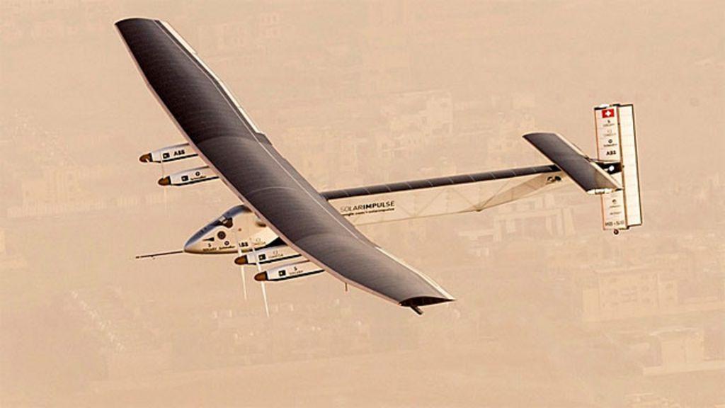 Avião movido a energia solar inicia tentativa de recorde com volta ...