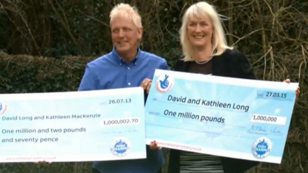 Casal britânico ganha 1 milhão de libras na loteria pela 2ª vez ...
