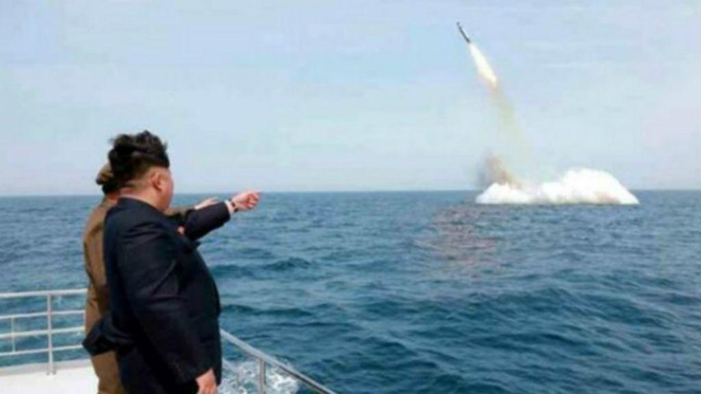 Resultado de imagem para missil coreia do norte