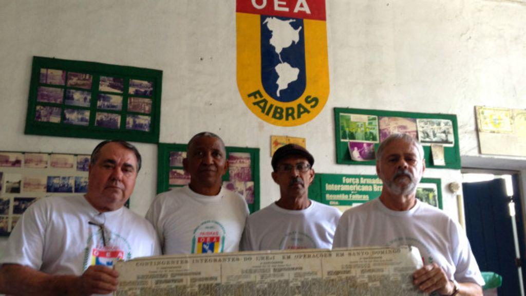 50 anos depois, brasileiros que lutaram na República Dominicana ...