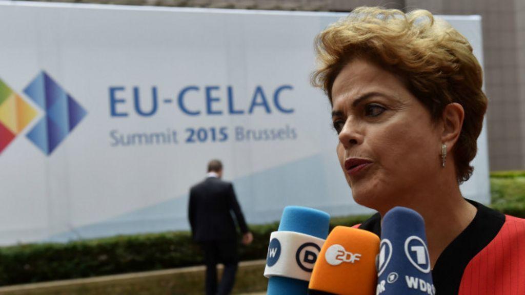 Dilma busca novos negócios e saídas para crise em Bruxelas - BBC ...