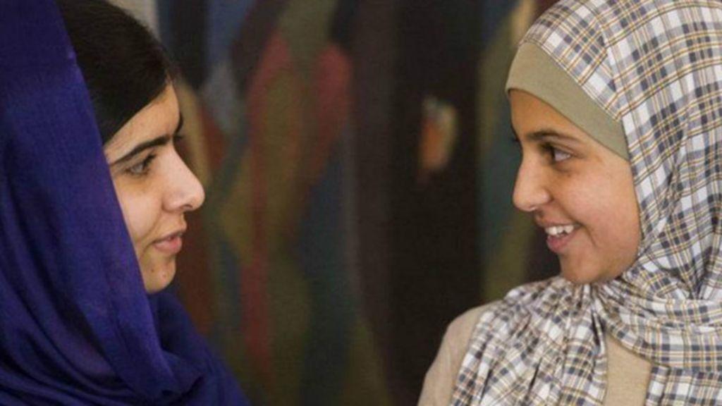 'Malala síria' luta contra casamentos de crianças com homens mais ...