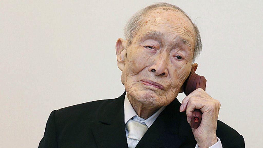 Homem mais velho do mundo morre no Japão aos 112 anos - BBC ...
