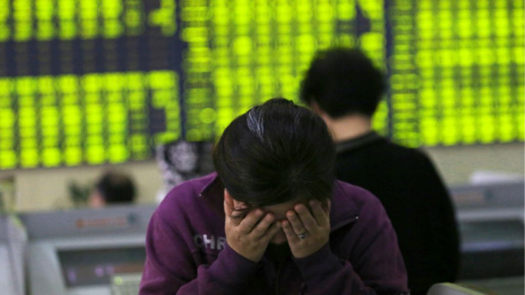 'Terremoto' na bolsa de Xangai assusta investidores; perdas ...