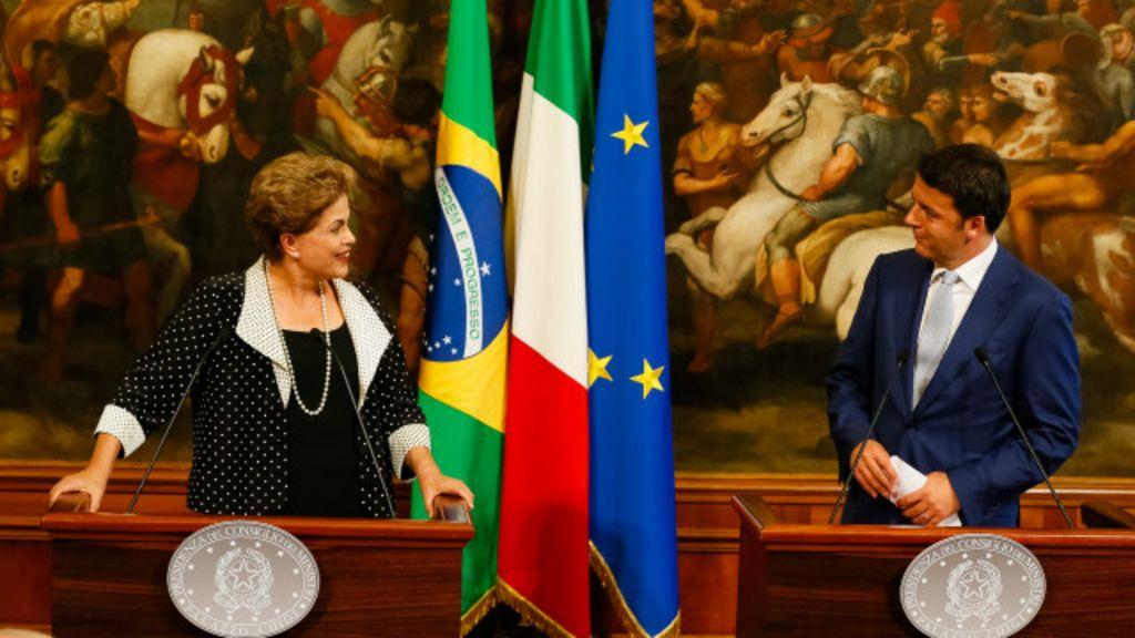 Na Itália, Dilma ouve pedido por 'solução dos casos mais difíceis' da ...