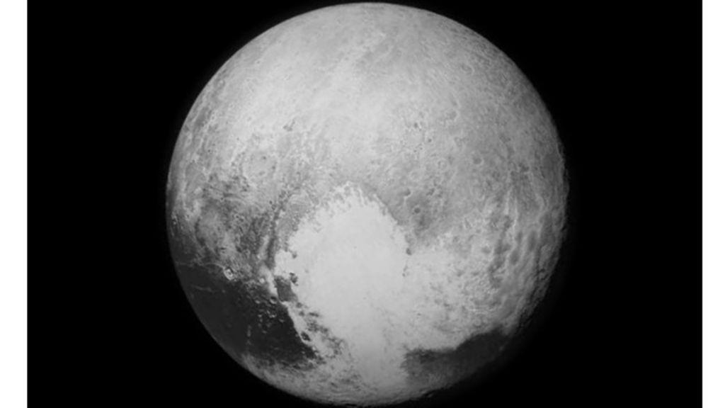 Imagens revelam montanhas de gelo em Plutão - BBC Brasil